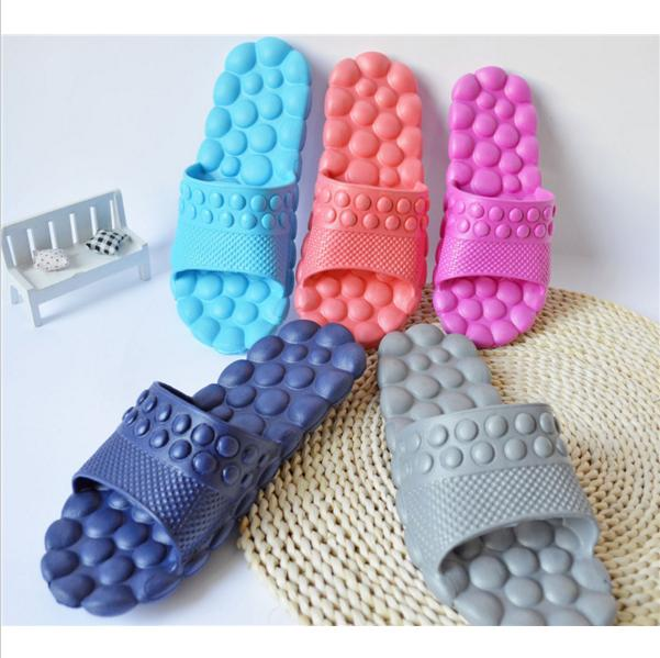 Hot Women Shoes Massage Bathroom Slippers Summer Sandals Home Slippers women camouflage herringbone slippers massage bottom sandals