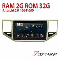 Vehicle Media For VW Sportsvan 2016 10 1 Android 6 0 WANUSUAL Car Players GPS Navigator