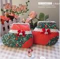 Handmade fabric material diy kit for clipping ldquo . christmas socks christmas rdquo . mouth gold package metal frame handbag