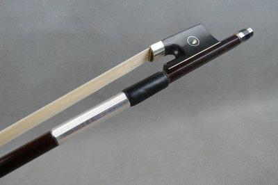 1 pcs high class color plaid black Carbon fiber font b violin b font bow 4
