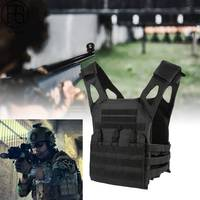 Airsoft 1000D Molle Taktische Weste Vereinfachte Version Military Brust Schutz Outdoor Amphibien Taschen Plate Carrier