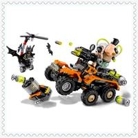 396Pcs Batman Bane Toxic Truck Model Building Block Toys LEPIN 07081 Construction Figure Gift For Children