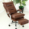 Luxury comfortable computer office chair home boss chair can adjust can lie function boss chair stool swivel chair