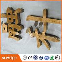 3d Stainless Steel Signage Led Channel Letter Sign