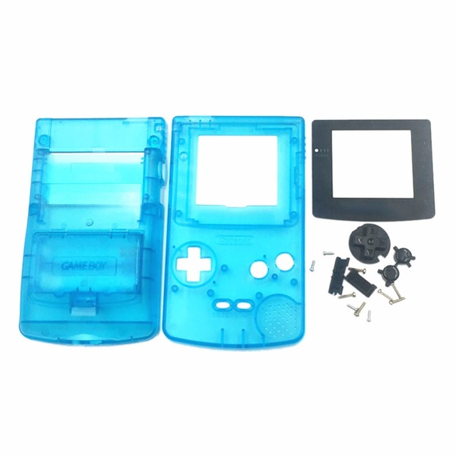 Light Blue Replacement Housing Shell Case Cover For Nintendo Game Boy Color Gbc In Cases From Consumer Electronics On Aliexpress Com Alibaba Group