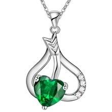 Сказать посеребренные ювелирные изделия ожерелье кулон WN1755