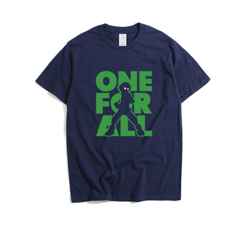 Cosroad Boku No My Hero Academia Midoriya Izuku One for All T Shirt Men Cotton Summer T-shirts1 (3)