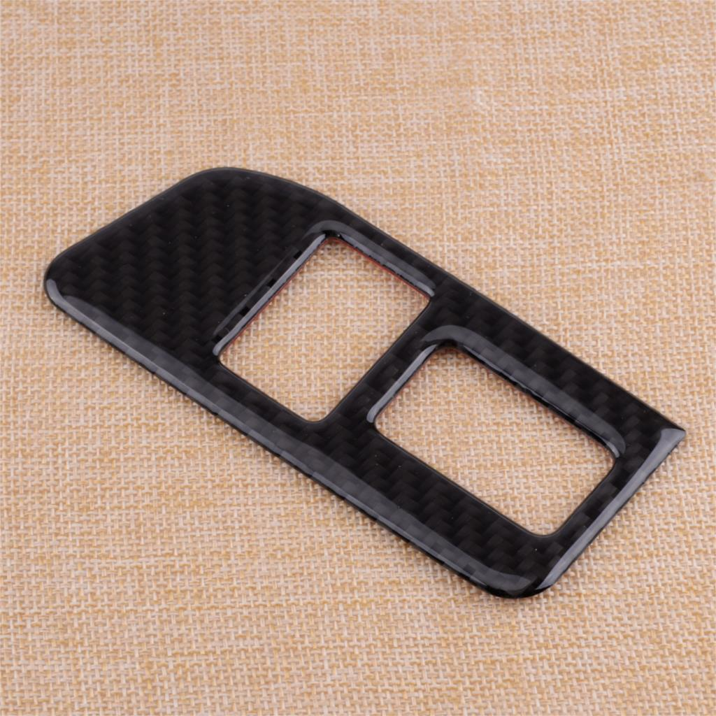 Carbon Fiber Trunk Switch Button Cover Trim for Toyota 86 GT86 Scion FR-S 12-17