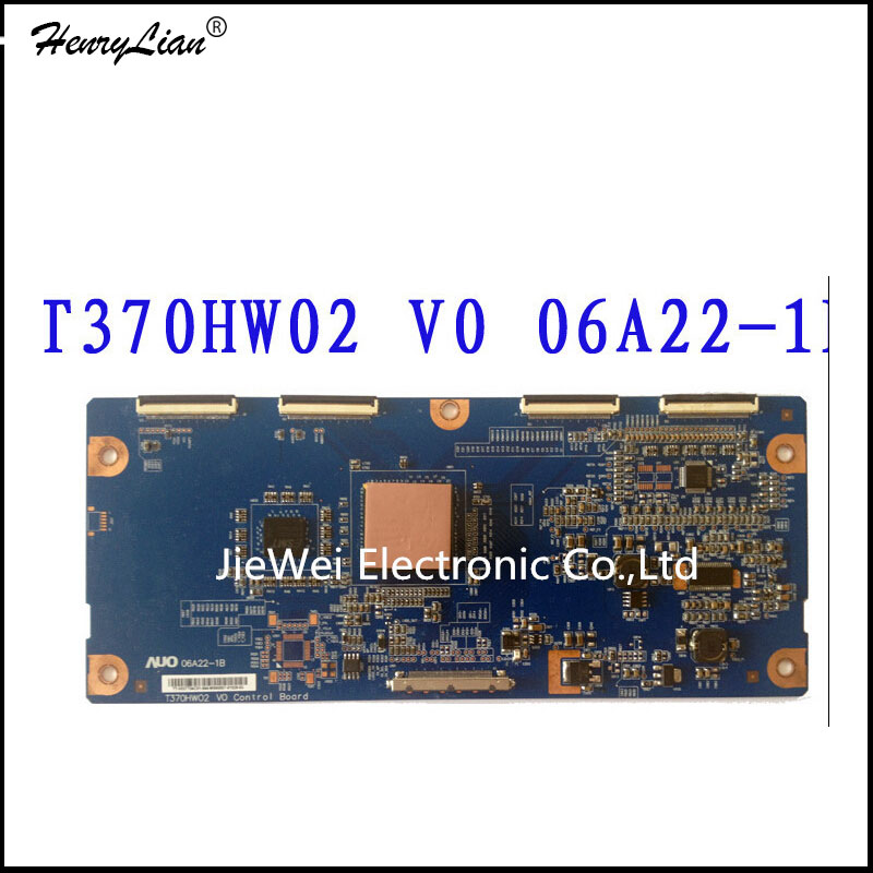 Active Components 2019 New Style Lcd T-con T370hw02 V0 Control Board 06a22-1b Auo 37 Inch Logic Board For Philips Working Good! Integrated Circuits