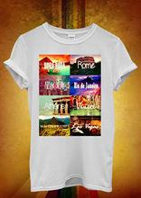 New York Las Vegas Venice Holiday Men Women Unisex T Shirt Top Vest 1044 New T Shirts Funny Tops Tee New Unisex Funny Tops кеды d t new york d t new york dt002awbfzh3