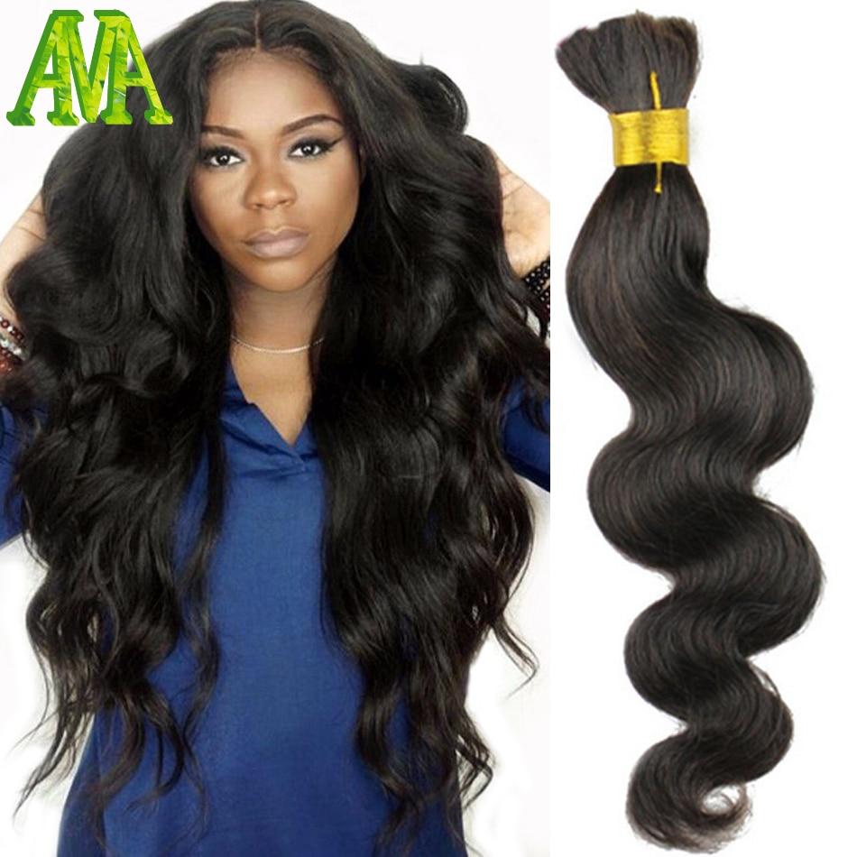 Body Wave Hair Weave Wavy Crochet Braid 100 Brazilian Hair