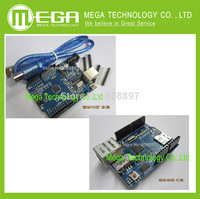 Free Shipping Ethernet W5100 Network Expansion Board SD Card Shield For Arduino With UNO R3 And