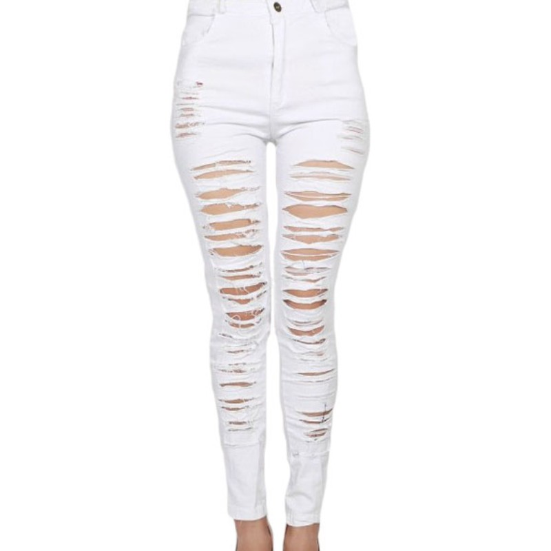 Compare Prices on White Denim Jeans- Online Shopping/Buy Low Price ...