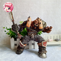 Orc Warrior Garrosh Hellscream Action Figure Premium Series 3 Garrosh Hellscream Doll PVC ACGN figure Toy Brinquedos Anime 19CM