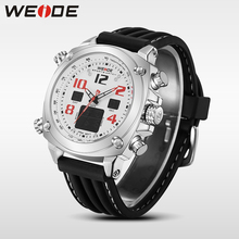 цена на WEIDE top brand luxury sport watch Multiple Time Zone relogio masculino esportivo military watch relogio masculino digital cloc
