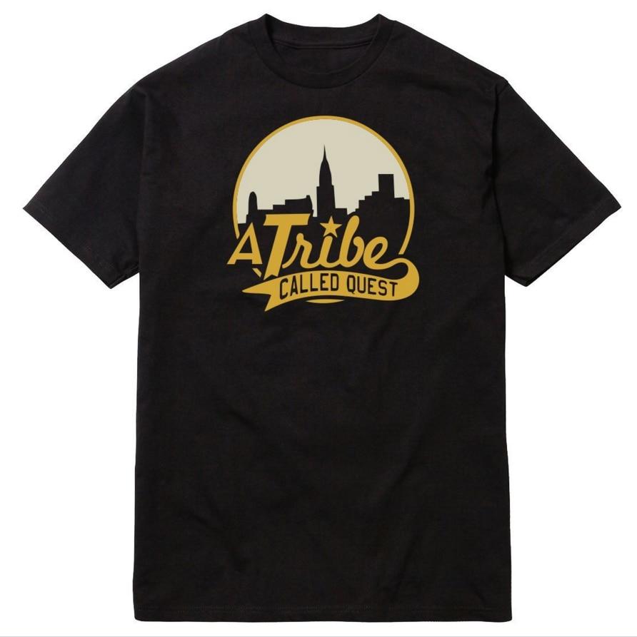 Rational Herren T Shirts A Tribe Genannt Quest Skyline Atcq Hip-hop Rap Native Zungen T-shirt Baumwolle O Hals Kurzarm T-shirt Mutter & Kinder Accessoires