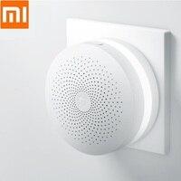 Xiaomi Mijia Gateway Multifunctional Gateway Alarm System Control Mi Door Sensor Bell Temperature