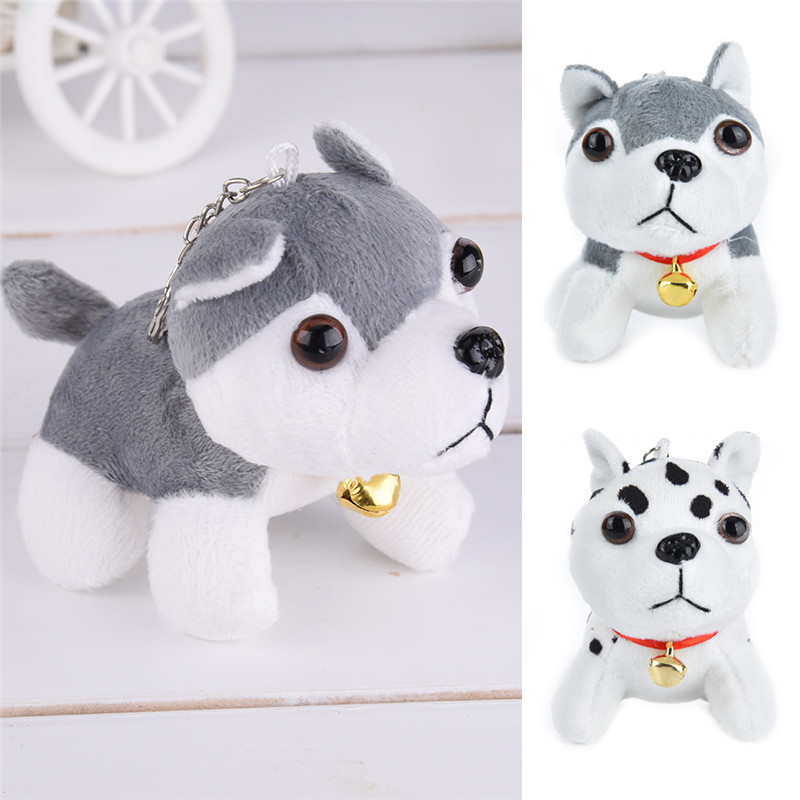 11.5X9.5cm Puppy Toys Husky Plush Toys Spotty Dog Stuffed Animal Plush Toy for Children Christmas Gifts Puppy Plush Toys New puppy canina juguetes towerbig toys russian anime doll action figures car parking puppy dog toy gifts everest dog children gifts
