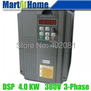 5HP 4KW 380V 3-Phase VFD Variable Frequency Drive Inverter DSP Control System #SM664 @SD teco drive inverter n310 4008 s3x 7 5hp 5500w 3 phase 380v 480v hot selling