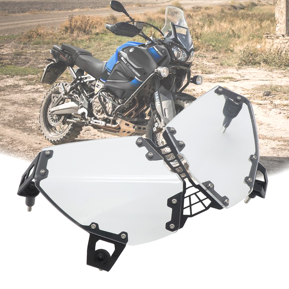 Headlight Head Lamp Light Guard Cover Protector For Yamaha XT1200Z XT 1200 Z Super Tenere XTZ1200