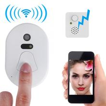 2.4G Smart RF Wireless Ring Doorbell WiFi Visual Camera Phone Doorbell Anti-theft Alarm Home Security Safe Wireless Door Bells new w5 smart electronic cat eye anti theft security wireless video doorbell
