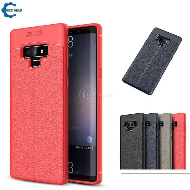 hot sale online 11127 d84ed US $4.31 8% OFF|Fitted Case for Samsung Galaxy NOTE 9 note9 Silicone Phone  Protective Cover Coque Capa For Samsung SM N960U SM N960N N960U N960N-in ...