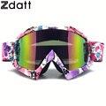 Zdatt motocross motocicleta gafas rosa mx goggles gafas de esquí a prueba de viento moto gafas fox racing motocross antiparras new02