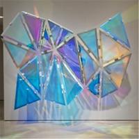Raw Material Self adhesive self adhesive dichroic iridescent vinyl film pet decorative film 1020mmX100m