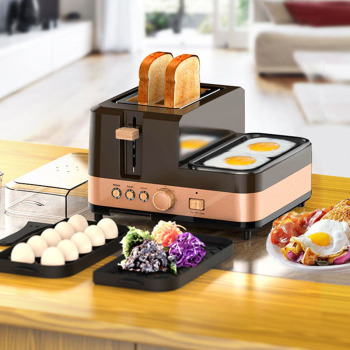 3 in 1 breakfast machine kitchen tools toast furnace automatic household multi-function breakfast toast toast machine 1