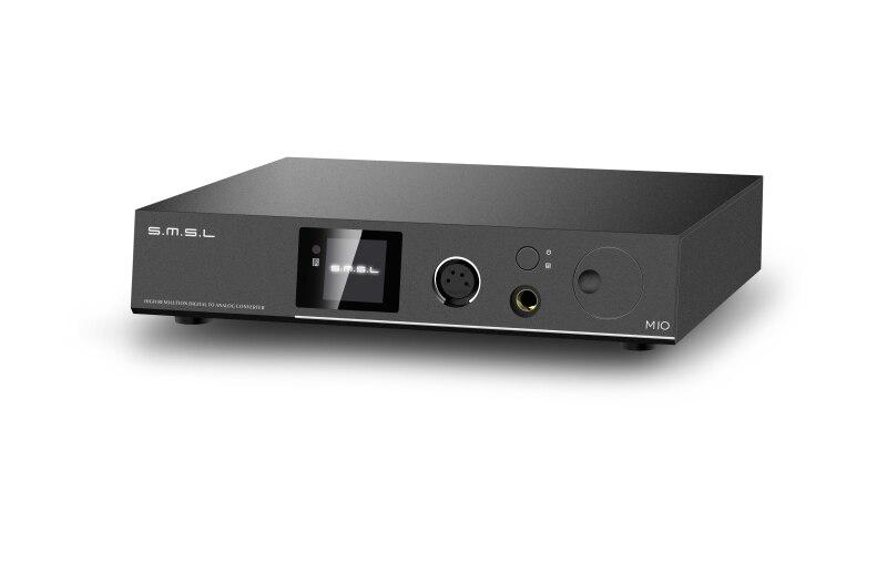 DHL free shipping SMSL M10 Balanced DAC Amplifiers AK4497 Chip DSD 512PCM 768kHz USB Digital Decoder Power Amp One Machine