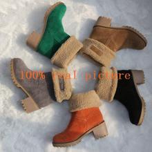 ASILETO Brand Boots Female Winter