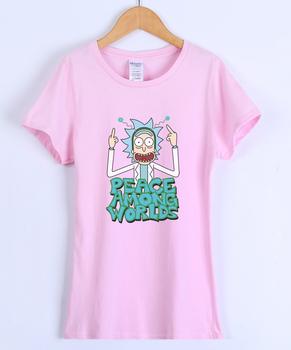 Rick and Morty - Peace Among Worlds (Women's Shirt)