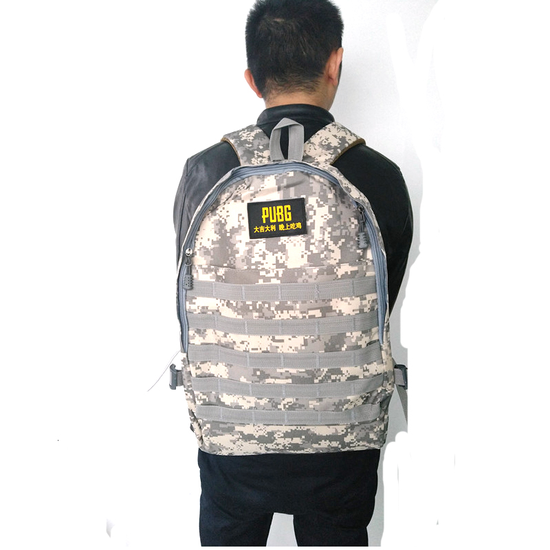 Playerunknown's Battlegrounds <font><b>PUBG</b></font> <font><b>Backpack</b></font> Winner Chicken Dinner Level 3 Instructor <font><b>Backpack</b></font> Multi-functional image