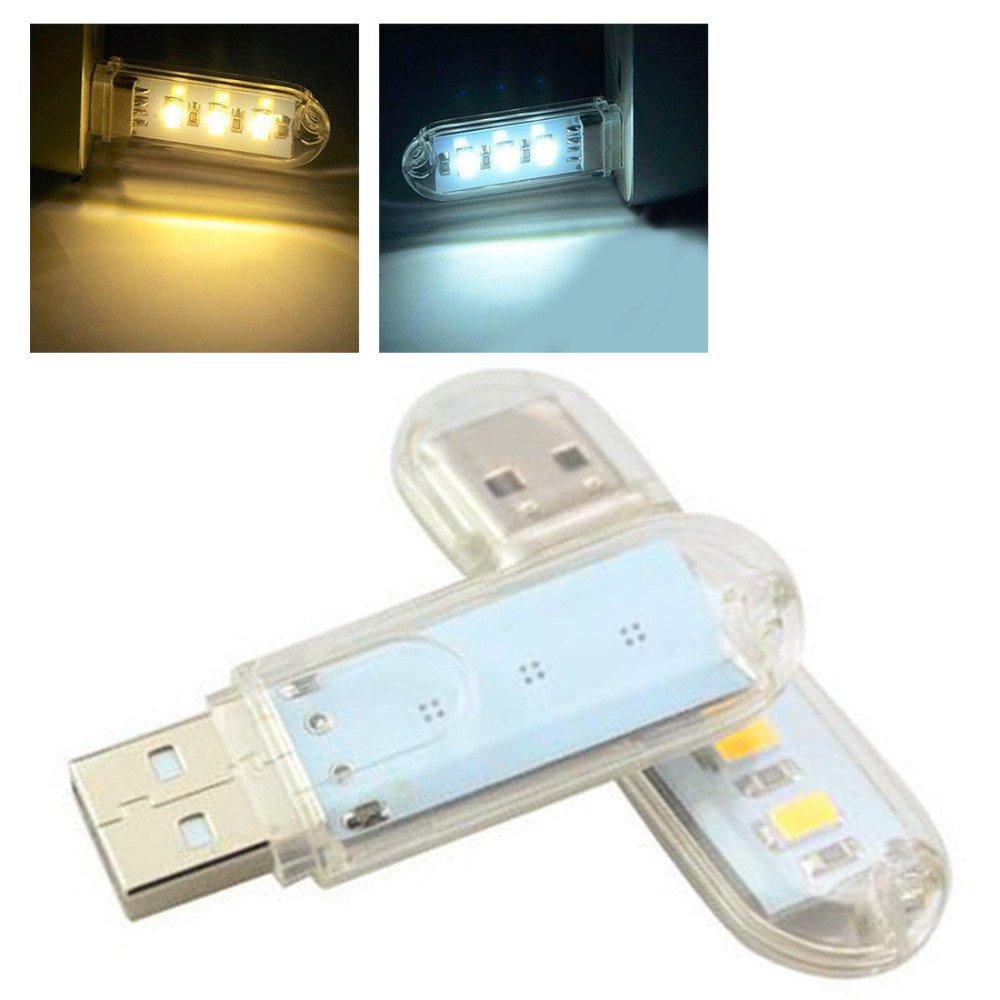Reading book lamp 1pc Mini USB LED Book Light 3LEDs DC 5V For PC Laptops Computer Notebook Power Bank Camping Lamp Reading Bulb ...
