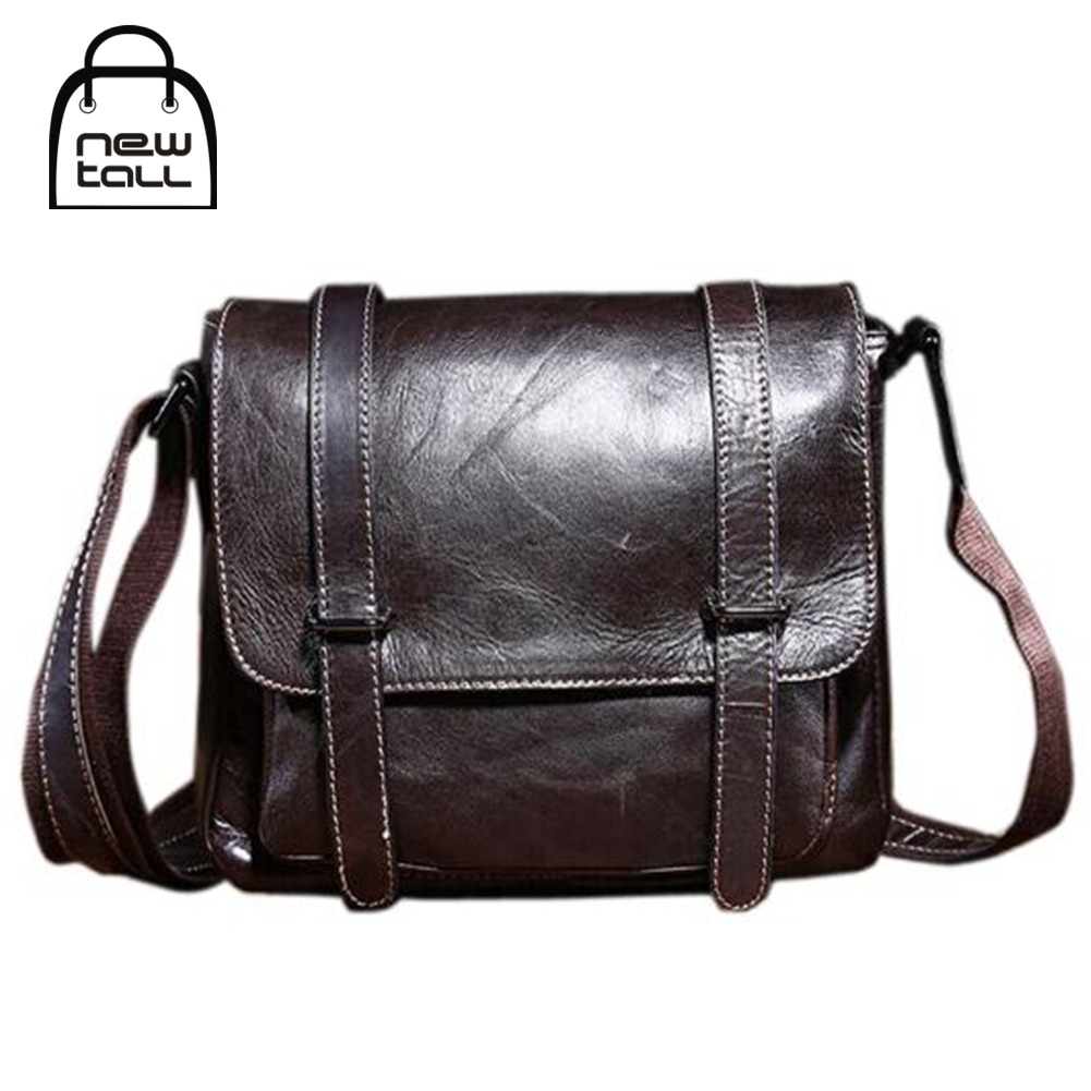 ФОТО [NEWTALL] 2017 Fashion High Quality Men's Genuine Leather Party Cross-Body Bag For ipad Men's Gift Free Shipping B1056