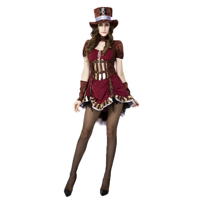 Alice In Wonderland Deluxe Mad Hatter Costume for Women ...