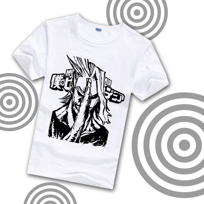 Cosworld Boku no Hero Academia T-Shirt Short Sleeve Tee Shirt  My Hero Academia Izuku Midoriya Printed Summer Costume (4)