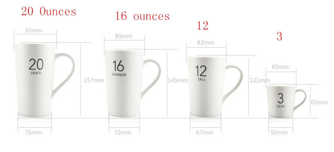 12 Cup Coffee Maker Is How Many Ounces : Aliexpress.com : Buy 16 Ounces 12 Ounces 3Ounces 20 Ounces Ceramin Bone China Coffee Cup Free ...
