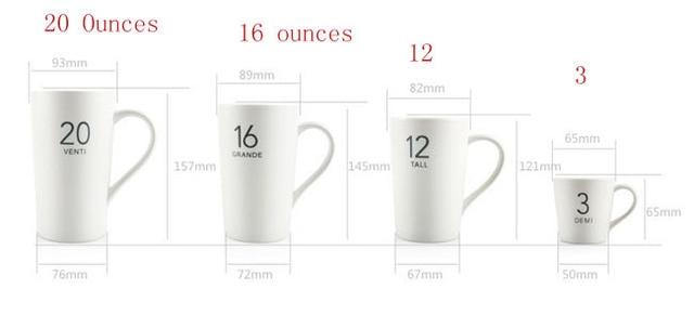 16 Ounces 12 3ounces 20 Ceramin Bone China Coffee Cup Free Post
