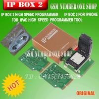 Gsmjustoncct ipbox2ip programador de alta velocidade forIphone forIpad 5S disk4s 5 5c duro 6 6 mais ferramentas de atualização de memória 16g to128gb