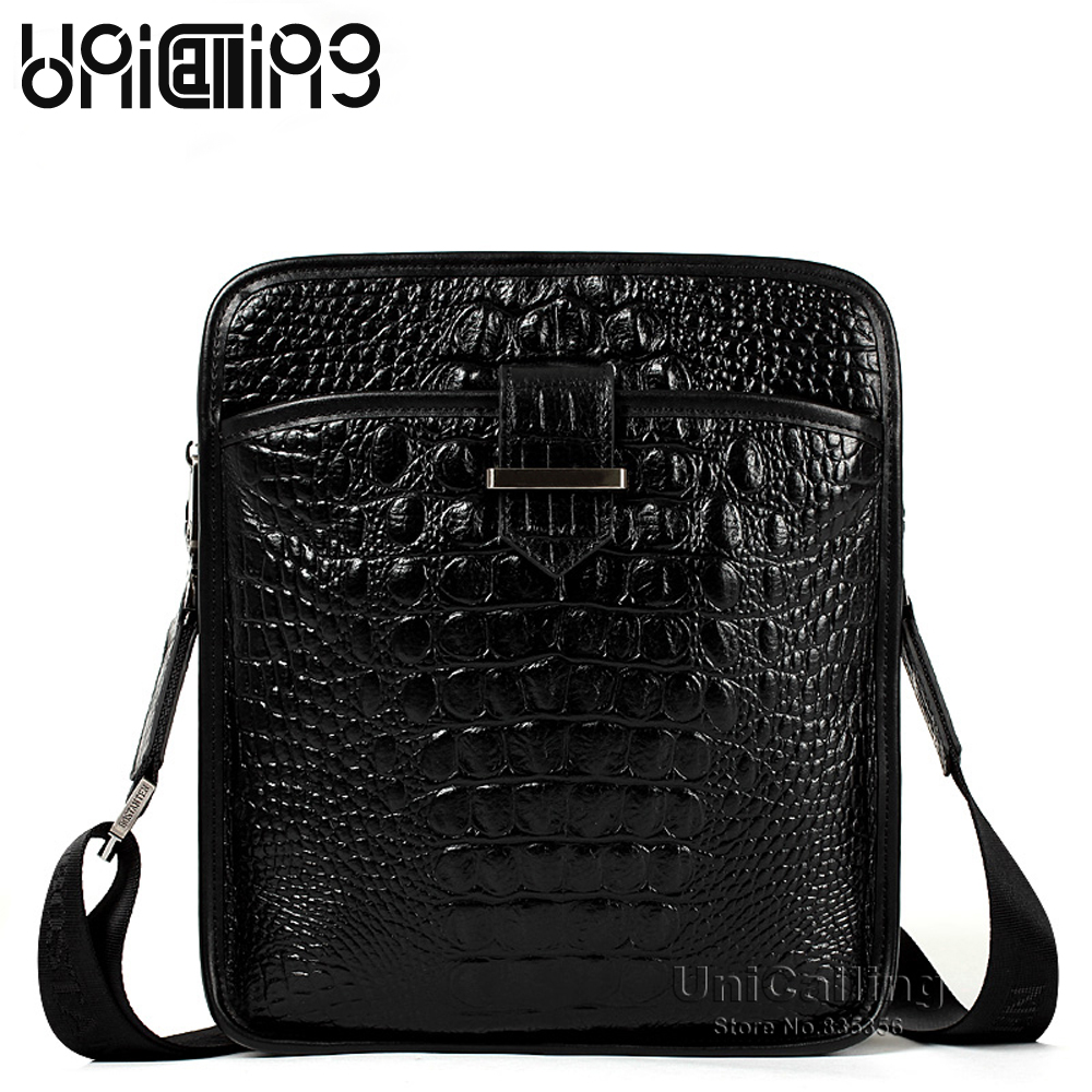 Unicalling quality cowhide genuine leather 100% Gurantee men fashion casual business shoulder bag real skin men messenger bag premium top layer cowhide genuine leather men messenger bag unicalling brand fashion style leather men bags business casual bag