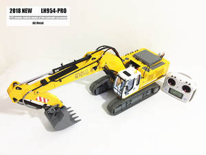 eMo 2018 Full metal 1/12 RC excavator/RC excavator model