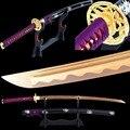 Брэндон мечи  Ручная ковка  острый самурайский Катана 1060  углеродистая сталь  полное лезвие  японский тренировочный меч  металлический дома...