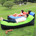 Rápido cama de Camping plegable inflable sofá perezoso bolsa de aire sofá perezoso bolsa de dormir adulto cama de aire salón Silla de Camping colchón pad