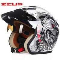 Motorcycle Helmet Retro Cruiser Chopper 3 4 Open Face Vintage Helmet 38169 Moto Casque Casco Motocicleta