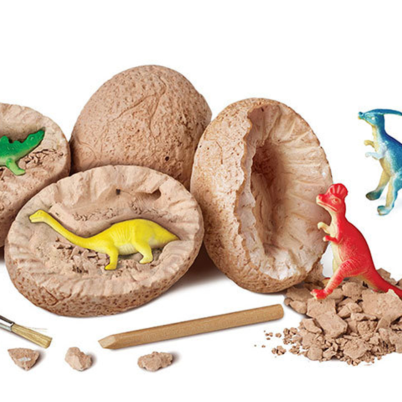 DIY Dinosaur Eggs Toys Digging Fossils Excavation Dinosaur Toys For Kids Learning Educational Fun Play Toy Noverty Gift Find it in Gags Practical Jokes from Toys Hobbies