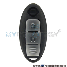 Автомобиль Smart Key 2 Кнопка 433.9 мГц для Nissan Qashqai X-Trail remtekey