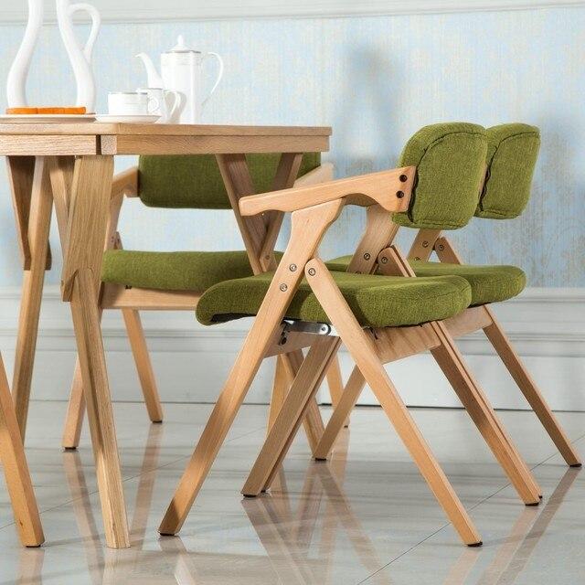 Esszimmer Faltbare Stuhl Haushalt Hocker Büro Tagungsraum Stuhl Grün Braun  Ect Farbe Freies Verschiffen