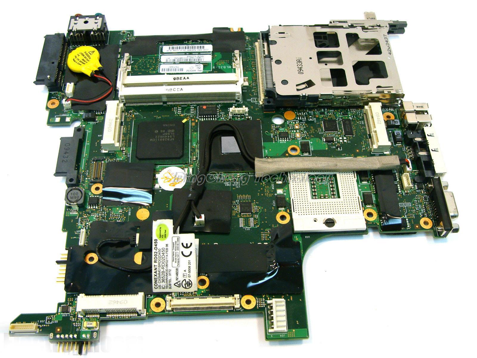 SHELI laptop Motherboard for Lenovo IBM T400 14.160Y3757 integrated graphics card 100% tested Fully