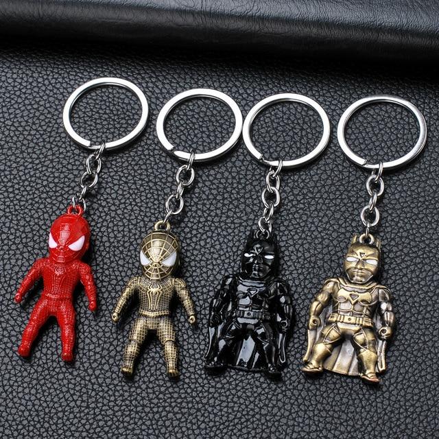 Брелок металлический фигурки героев марвел и DS Comics 1